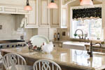 European House Plan Kitchen Photo 04 - Castlton European Grandeur Home 011S-0002 | House Plans and More