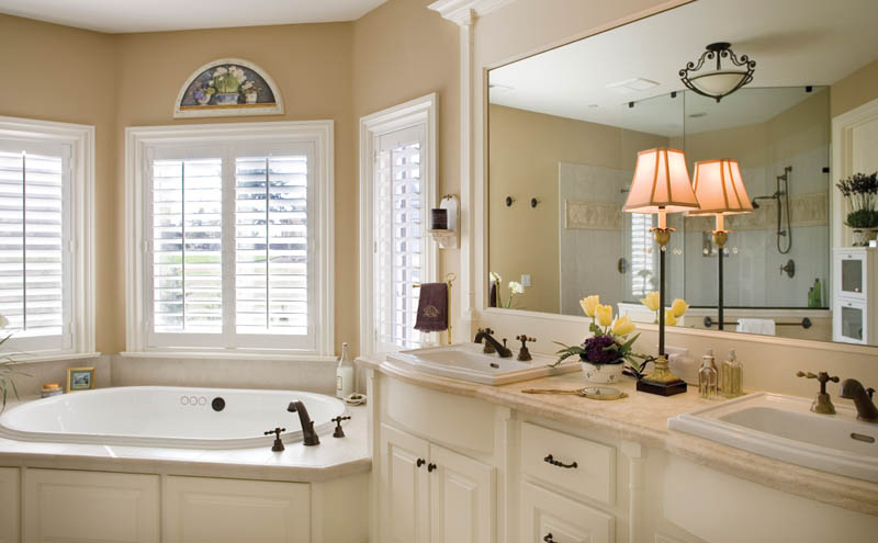 Country French House Plan Master Bathroom Photo 01 - Castlton European Grandeur Home 011S-0002 | House Plans and More