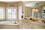European House Plan Master Bathroom Photo 01 - Castlton European Grandeur Home 011S-0002 | House Plans and More