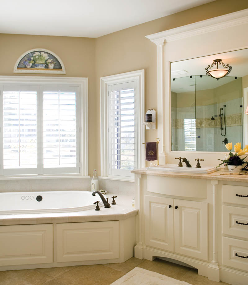 Country French House Plan Master Bathroom Photo 03 - Castlton European Grandeur Home 011S-0002 | House Plans and More