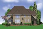 European House Plan Color Image of House - Castlton European Grandeur Home 011S-0002 | House Plans and More