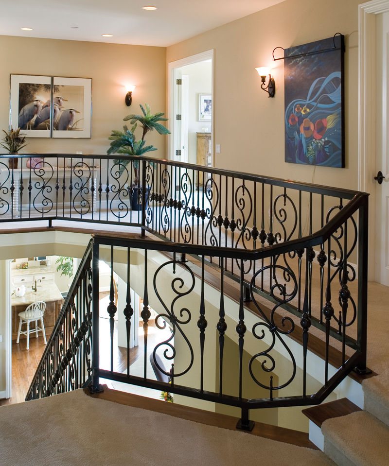 Country French House Plan Stairs Photo - Castlton European Grandeur Home 011S-0002 | House Plans and More