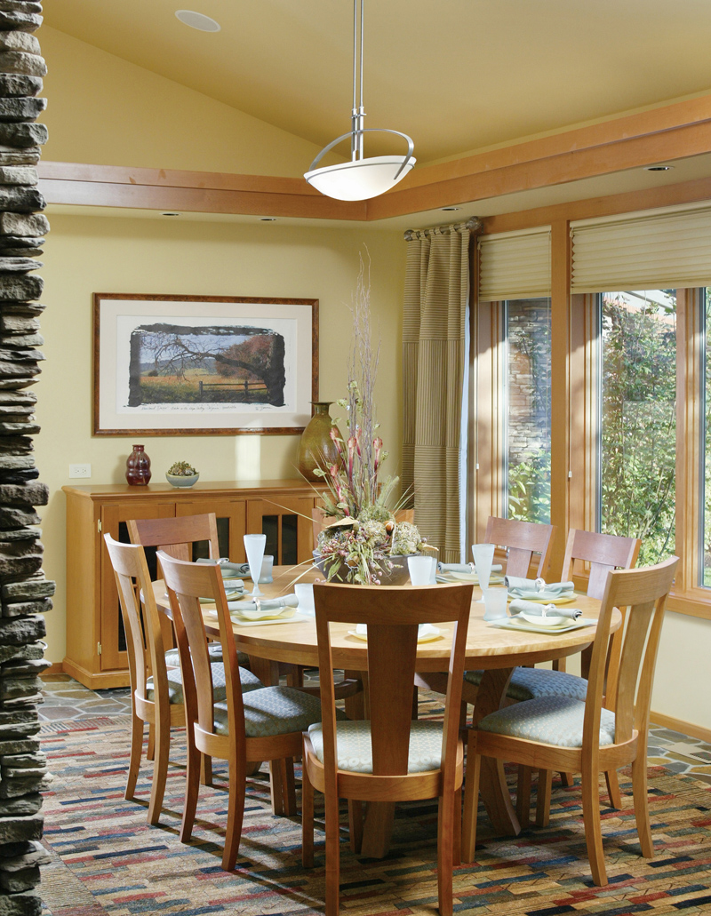 Luxury House Plan Dining Room Photo 01 - Crane Grove Ranch Home 011S-0003 | House Plans and More