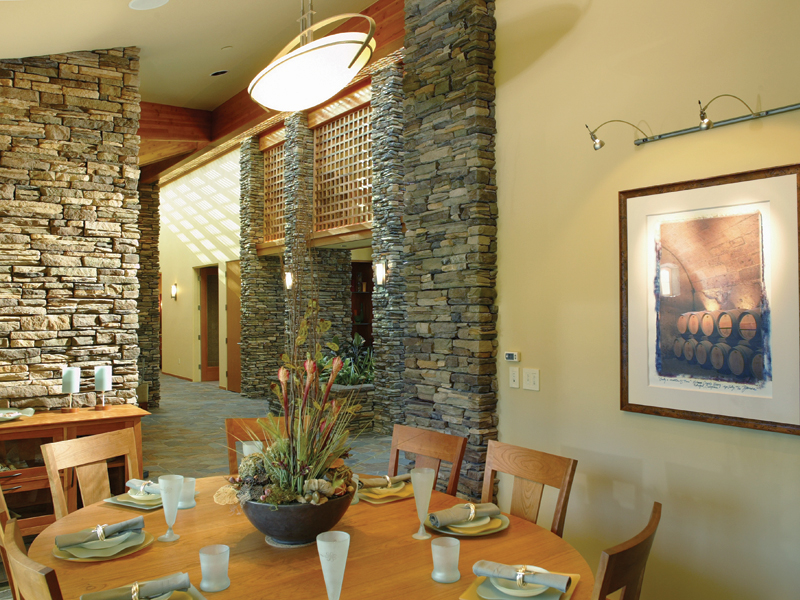 Luxury House Plan Dining Room Photo 02 - Crane Grove Ranch Home 011S-0003 | House Plans and More