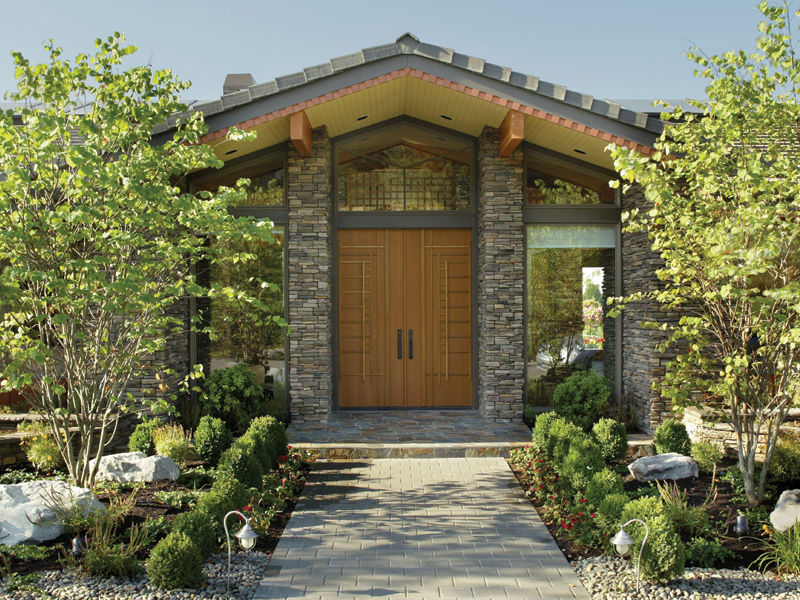 Luxury House Plan Entry Photo 01 - Crane Grove Ranch Home 011S-0003 | House Plans and More