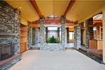 Luxury House Plan Great Room Photo 01 - Crane Grove Ranch Home 011S-0003 | House Plans and More
