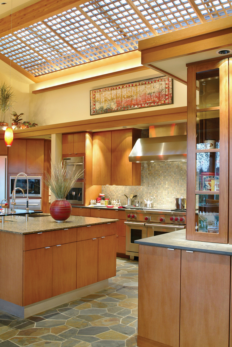 Luxury House Plan Kitchen Photo 01 - Crane Grove Ranch Home 011S-0003 | House Plans and More