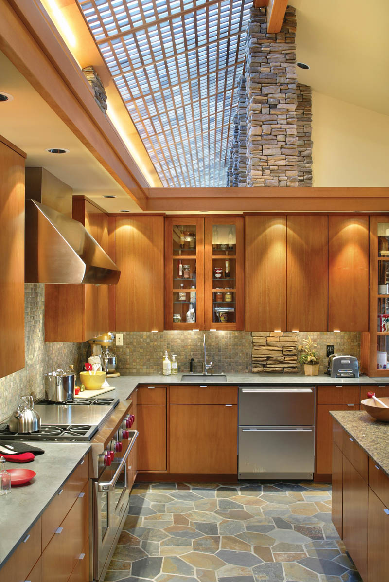 Luxury House Plan Kitchen Photo 03 - Crane Grove Ranch Home 011S-0003 | House Plans and More