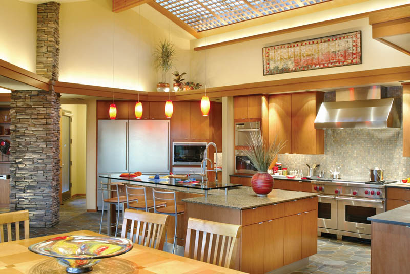 Luxury House Plan Kitchen Photo 04 - Crane Grove Ranch Home 011S-0003 | House Plans and More