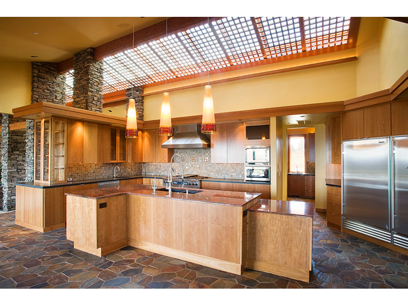 Luxury House Plan Kitchen Photo 06 - Crane Grove Ranch Home 011S-0003 | House Plans and More