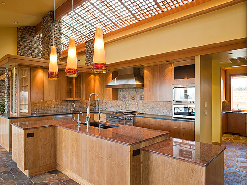 Luxury House Plan Kitchen Photo 07 - Crane Grove Ranch Home 011S-0003 | House Plans and More