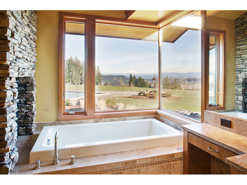 Luxury House Plan Master Bathroom Photo 01 - Crane Grove Ranch Home 011S-0003 | House Plans and More