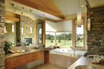 Luxury House Plan Master Bathroom Photo 02 - Crane Grove Ranch Home 011S-0003 | House Plans and More