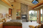 Luxury House Plan Master Bedroom Photo 01 - Crane Grove Ranch Home 011S-0003 | House Plans and More