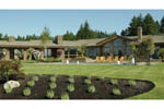 Luxury House Plan Rear Photo 07 - Crane Grove Ranch Home 011S-0003 | House Plans and More