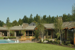 Luxury House Plan Side View Photo - Crane Grove Ranch Home 011S-0003 | House Plans and More