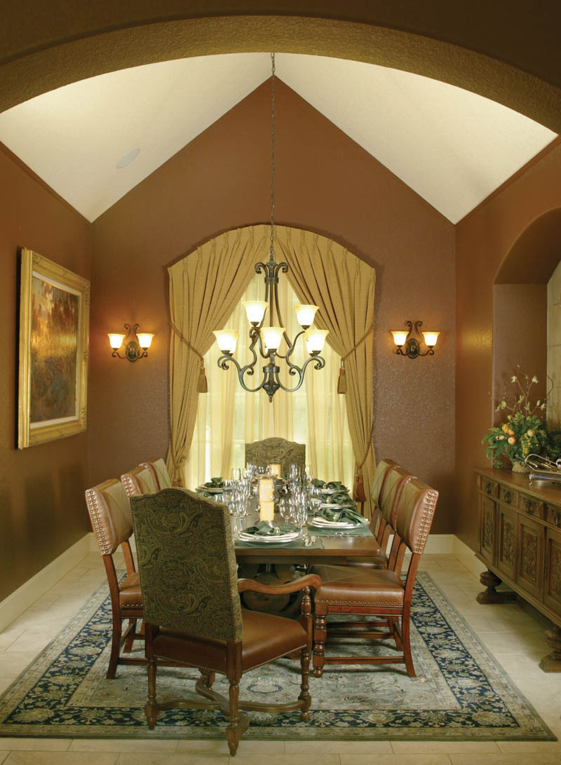 Traditional House Plan Dining Room Photo 01 - Champlain Luxury Home 011S-0004 | House Plans and More