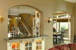 Traditional House Plan Family Room Photo 01 - Champlain Luxury Home 011S-0004 | House Plans and More