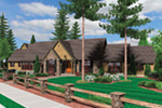 Traditional House Plan Front Image - Champlain Luxury Home 011S-0004 | House Plans and More