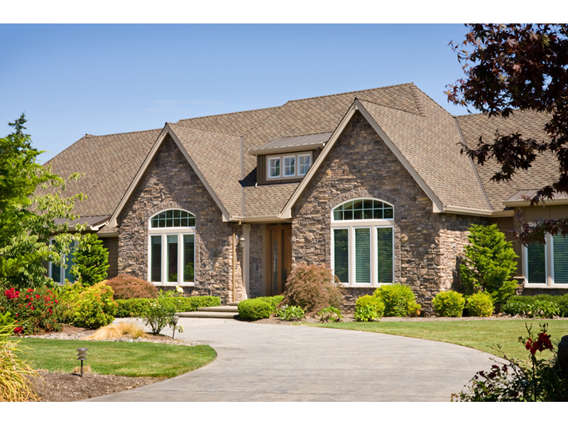 Traditional House Plan Front Photo 01 - Champlain Luxury Home 011S-0004 | House Plans and More