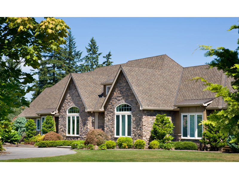 Traditional House Plan Front Photo 02 - Champlain Luxury Home 011S-0004 | House Plans and More