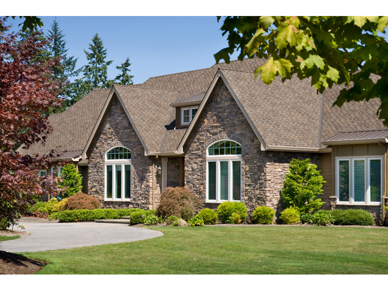 Traditional House Plan Front Photo 03 - Champlain Luxury Home 011S-0004 | House Plans and More
