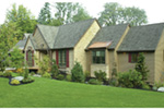 Traditional House Plan Front Photo 04 - Champlain Luxury Home 011S-0004 | House Plans and More