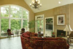 Traditional House Plan Great Room Photo 02 - Champlain Luxury Home 011S-0004 | House Plans and More