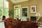 Traditional House Plan Great Room Photo 03 - Champlain Luxury Home 011S-0004 | House Plans and More
