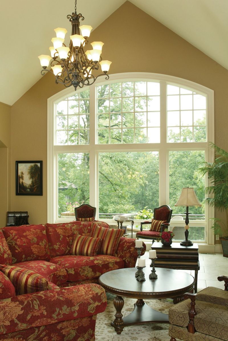 Traditional House Plan Great Room Photo 04 - Champlain Luxury Home 011S-0004 | House Plans and More