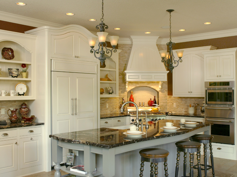 Traditional House Plan Kitchen Photo 01 - Champlain Luxury Home 011S-0004 | House Plans and More
