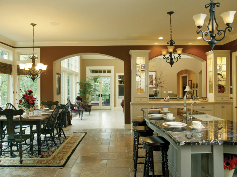Traditional House Plan Kitchen Photo 02 - Champlain Luxury Home 011S-0004 | House Plans and More