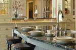 Traditional House Plan Kitchen Photo 04 - Champlain Luxury Home 011S-0004 | House Plans and More
