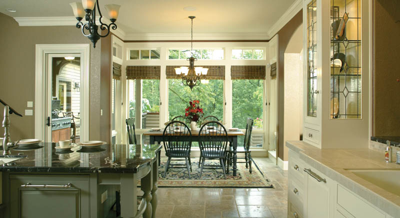 Traditional House Plan Kitchen Photo 07 - Champlain Luxury Home 011S-0004 | House Plans and More