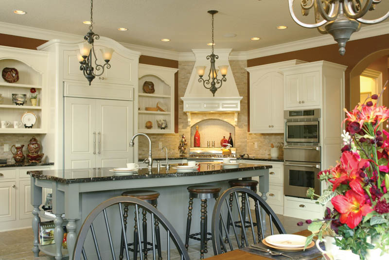 Traditional House Plan Kitchen Photo 08 - Champlain Luxury Home 011S-0004 | House Plans and More