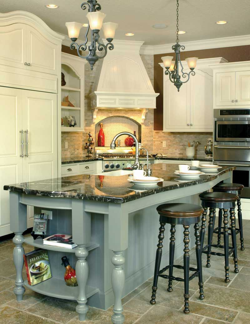 Traditional House Plan Kitchen Photo 09 - Champlain Luxury Home 011S-0004 | House Plans and More