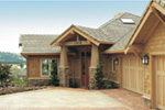 Lake House Plan Front Photo 10 - Juntara Craftsman Shingle Home 011S-0017 | House Plans and More