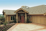 Lake House Plan Front Photo 07 - Juntara Craftsman Shingle Home 011S-0017 | House Plans and More