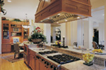 Lake House Plan Kitchen Photo 05 - Juntara Craftsman Shingle Home 011S-0017 | House Plans and More