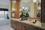 Lake House Plan Master Bathroom Photo 01 - Juntara Craftsman Shingle Home 011S-0017 | House Plans and More