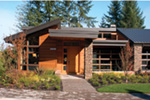 Waterfront House Plan Front Photo 07 - Castlerock Manor Luxury Home 011S-0018 | House Plans and More