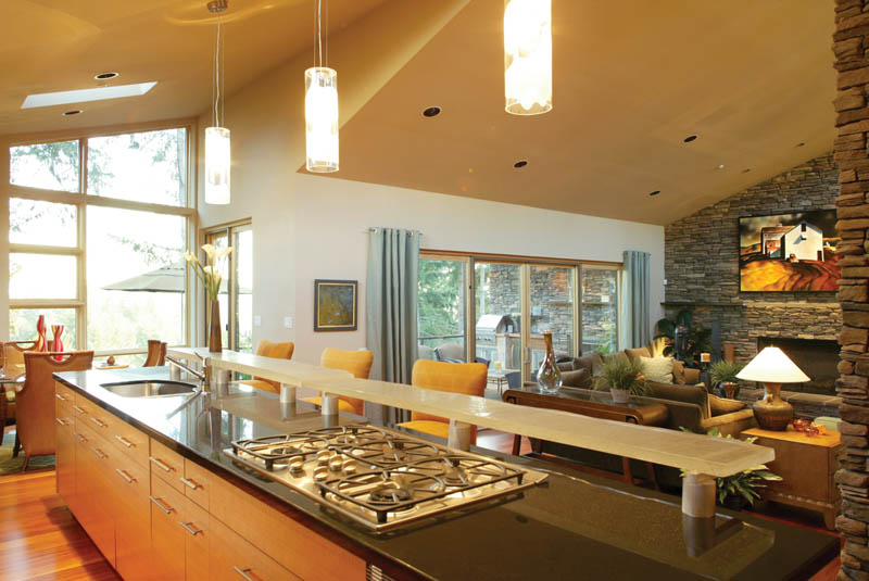 Waterfront House Plan Kitchen Photo 01 - Castlerock Manor Luxury Home 011S-0018 | House Plans and More