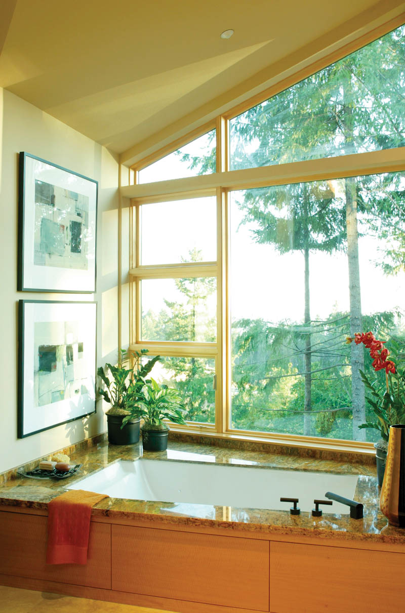 Waterfront House Plan Master Bathroom Photo 01 - Castlerock Manor Luxury Home 011S-0018 | House Plans and More