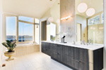 Waterfront House Plan Master Bathroom Photo 04 - Castlerock Manor Luxury Home 011S-0018 | House Plans and More
