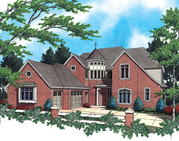 Home Plans with Two Master Suites | House Plans and More on for a ranch style home addition floor plans, atrium ranch house floor plans, basement ranch house floor plans, bedroom with two master suites house plans,