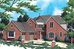 European House Plan Front of Home -  011S-0038 | House Plans and More