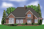 Rear Photo 01 -  011S-0048 | House Plans and More