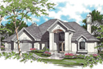 Florida House Plan Front Image -  011S-0064 | House Plans and More