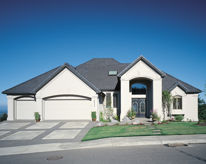 Florida House Plan Front of Home -  011S-0064 | House Plans and More