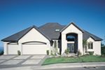 Sunbelt Home Plan Front of Home -  011S-0064 | House Plans and More